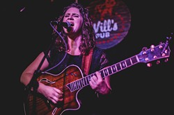Kaleigh Baker at Will's Pub (photo by James Dechert)