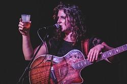 Kaleigh Baker at Will's Pub (photo by James Dechert)