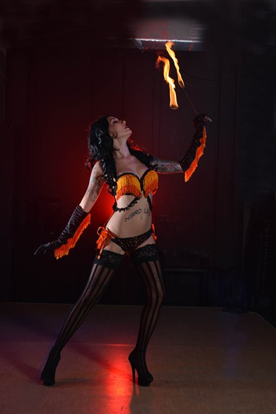 Kissa Von Addams as Sauron