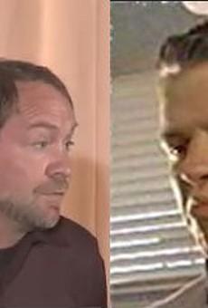 Left: Will Walker; Right: Biff Tannen. (We see it.)
