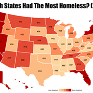 List says Florida is 10th in the nation for number of homeless