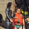 Luis Guzmán is Robin.