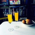 Mango-chili mimosa, your new brunch tipple