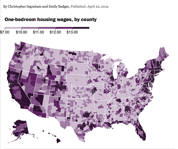 How Much Do You Need To Make To Rent A One-bedroom