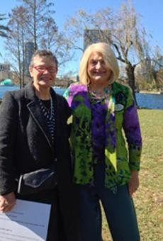 Marjorie Holt and Linda Stewart