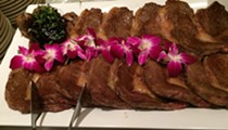 Matsusaka beef, considered the finest beef in Japan, made its North American debut right here in Orlando