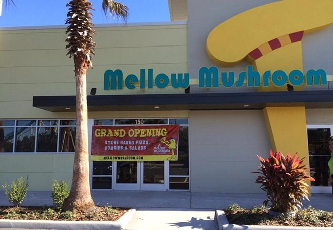 Mellow Mushroom on I-Drive - PHOTO VIA MELLOW MUSHROOM