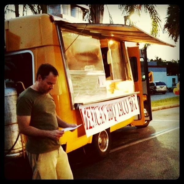 Mexican BBQ Taco Box food truck -- tacos al pastor