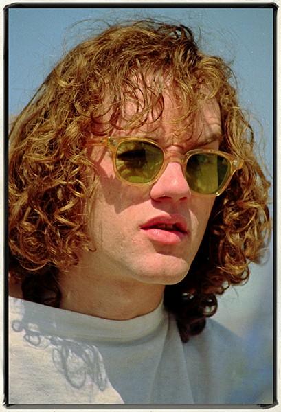 Michael Stipe of R.E.M., Daytona Beach, 1984 - JIM LEATHERMAN