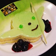 The food is adorable at Rebel Hangar: A Star Wars Lounge Experience