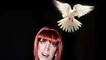 Miss Coco Peru graces the Abbey on her latest Orlando visit