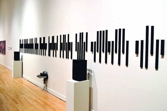 """""""Musical Landscape of Intelligent Mail"""" by Tammy Knipp - PHOTO BY DAVID MATHEWMAN"""