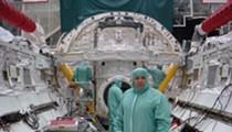 NASA engineer Richard Johanboeke stops by Orlando Science Center