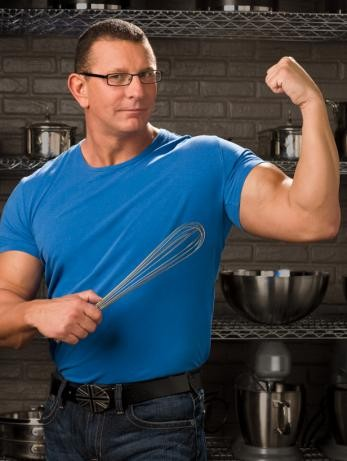 Never mind the whisk, here's Robert Irvine.