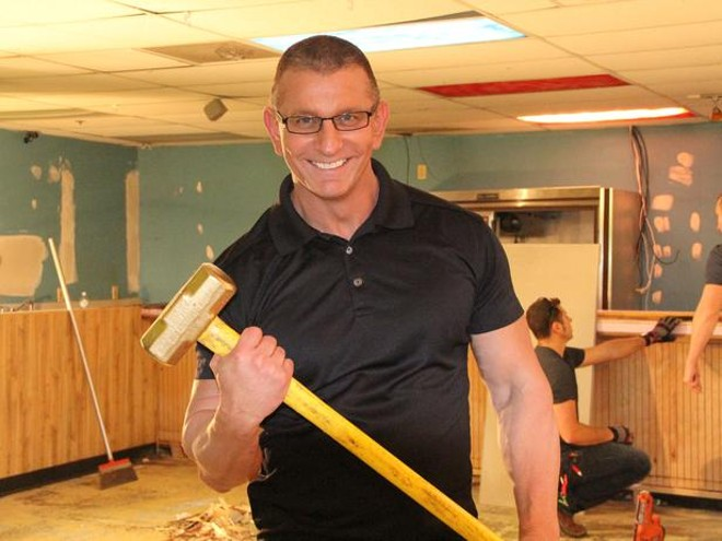 Robert Irvine is a little scary. - PHOTO VIA FOOD NETWORK