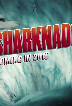 Sharknado filming at Universal Orlando theme parks