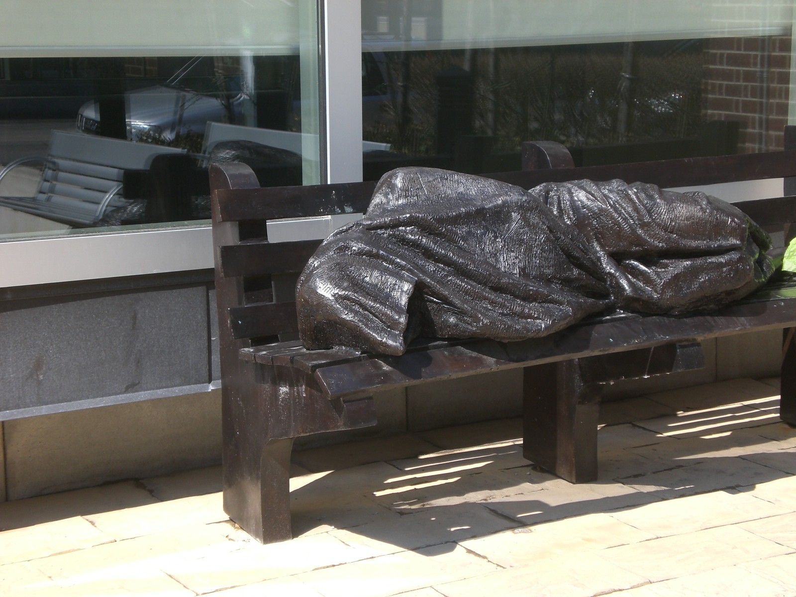 Homeless Jesus Sleeping On A Bench Statue To Be Installed