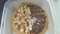 Nosh Pit: Melissa's Chicken & Waffles' S'more waffle