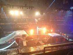 Nuclear Cowboyz opening night at Orlando's Amway Center (photos by Seth Kubersky)