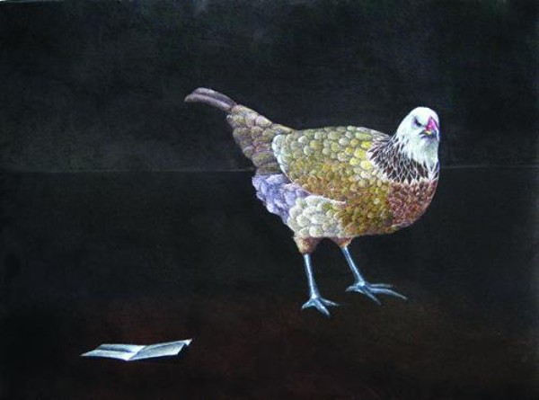 'Ode to a Hen' by Anna McCambridge-Thomas
