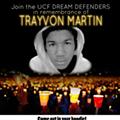 One year ago today, Trayvon Martin was shot
