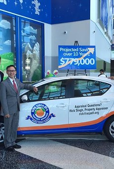 Orange County Property Appraiser's office unveils new Prius fleet