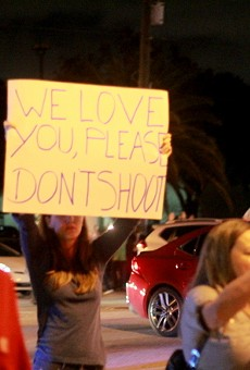 Orlando activists protest grand jury decisions in Ferguson and New York