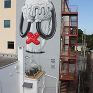 "Orlando gets love, part 4: Mark Gmehling tells Street Art magazine he had ""a beautiful time"" in Orlando"