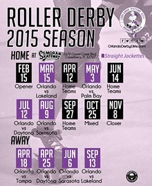 Orlando Psycho City Derby Girls - 2015 Season