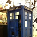 TARDIS Soda Machine at Epic Comics gets shout out from BBC America