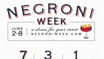 Celebrate Negroni Week in Orlando, June 2-8