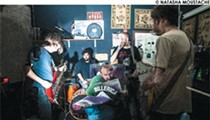 Boston-based band Pile tonight at The Peacock Room