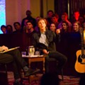 Sir Paul McCartney surprises Rollins students by dropping in to say hello, goodbye