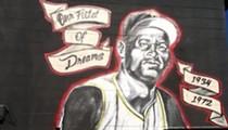 Roberto Clemente mural at Azalea Park Elementary School vandalized