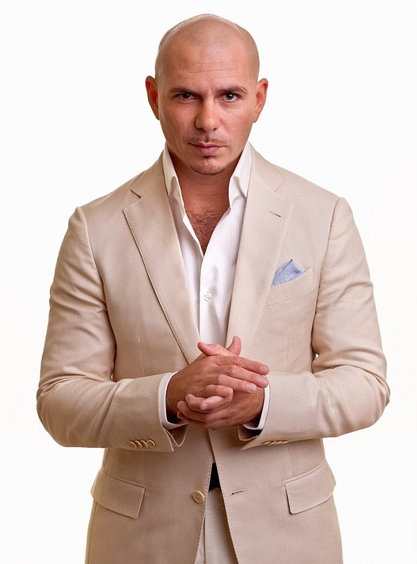Pitbull: always guaranteed to draw a crowd.