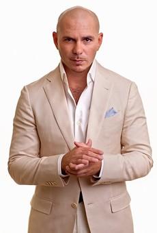 Pitbull: always guaranteed to draw a crowd.
