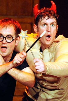 'Potted Potter' condenses all of J.K. Rowling's Harry Potter books into 70 minutes