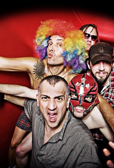 Punk provacateurs the Dwarves stop in at Backbooth for their only Florida date