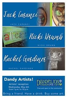 (THE ARTISTS) - Rachel Gardiner art opening