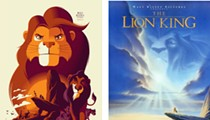 Re-imagined Disney posters from the 'Nothing's Impossible' exhibit at SXSW