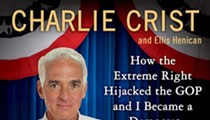 Republicans make white noise at Crist book-signing
