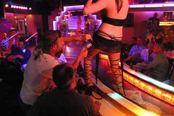 Lebaneese strip club