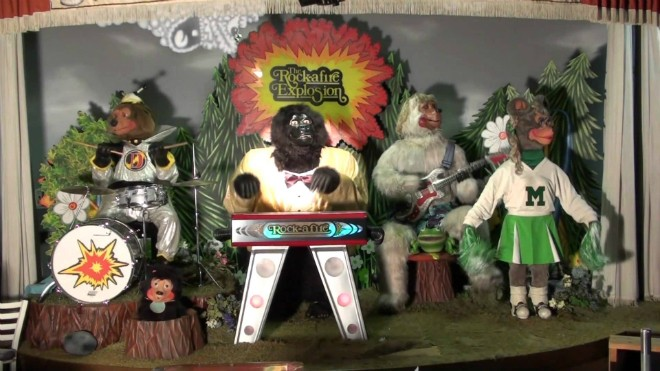 Revisiting Rock-afire Explosion: a gallery of characters