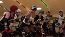 Rockin' roller derby: Arkham Assailants vs. Serial Thrillers at Semoran Skateway