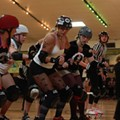 Rockin' roller derby: Arkham Assailants vs. Serial Thrillers at Semoran Skateway