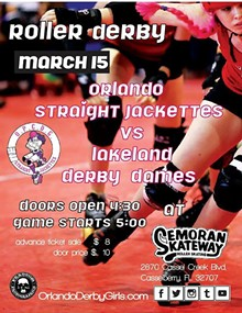 PHANTOM PHOTOGRAPHICS - Roller Derby This Sunday!