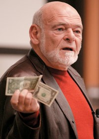 Sam Zell displays his deep regard for several U.S. Presidents.