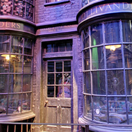 Screenshots from Google Maps' street view of Harry Potter's Diagon Alley