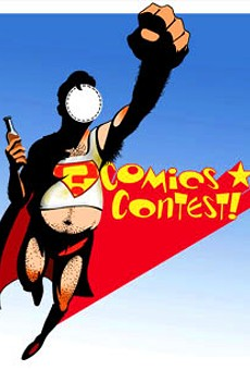 Second annual Comics Contest