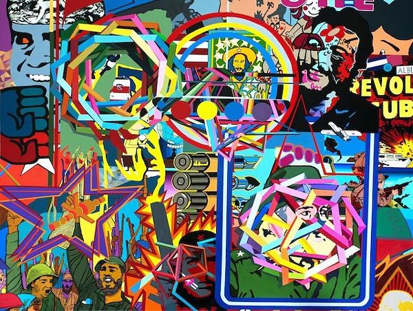 """SELF PORTRAIT"" (2013) BY JUAN TRAVIESO - IMAGE VIA ORLANDO MUSEUM OF ART"